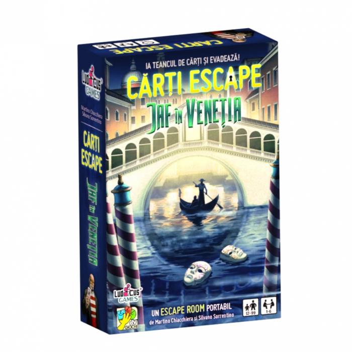 Carti Escape - Jaf in Venetia - RO 0