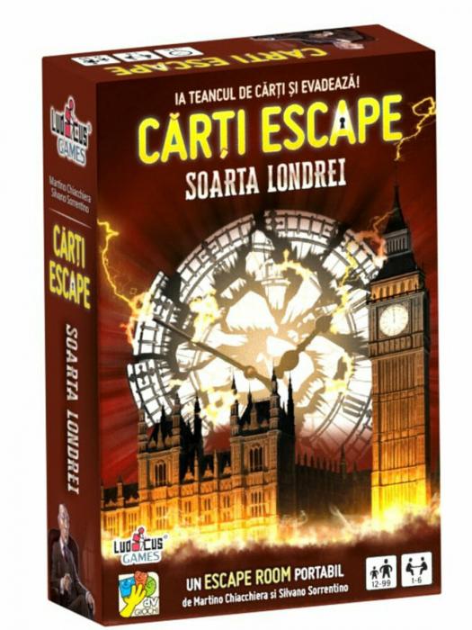 Carti Escape - Soarta Londrei 0