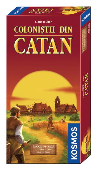 Catan - Joc de baza ext. 5-6 - RO 0