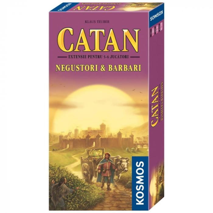 Catan - Negustori si Barbari ext. 5-6 - RO 0