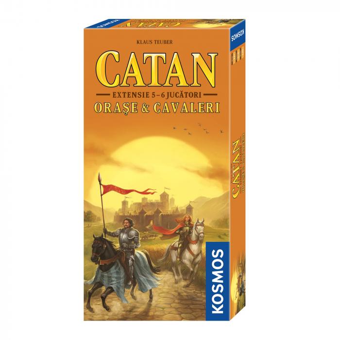 Catan - Orase si Cavaleri ext. 5-6 - RO 0