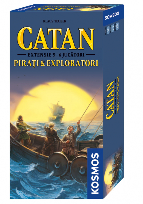 Catan - Pirati si Exploratori ext. 5-6 0