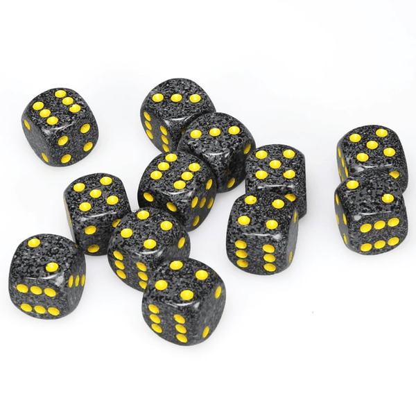 Chessex Speckled 16mm d6 with pips Dice Blocks (12 Dice) - Urban Camo 0