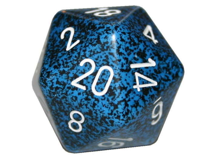 Speckled 34mm D20: Stealth [0]