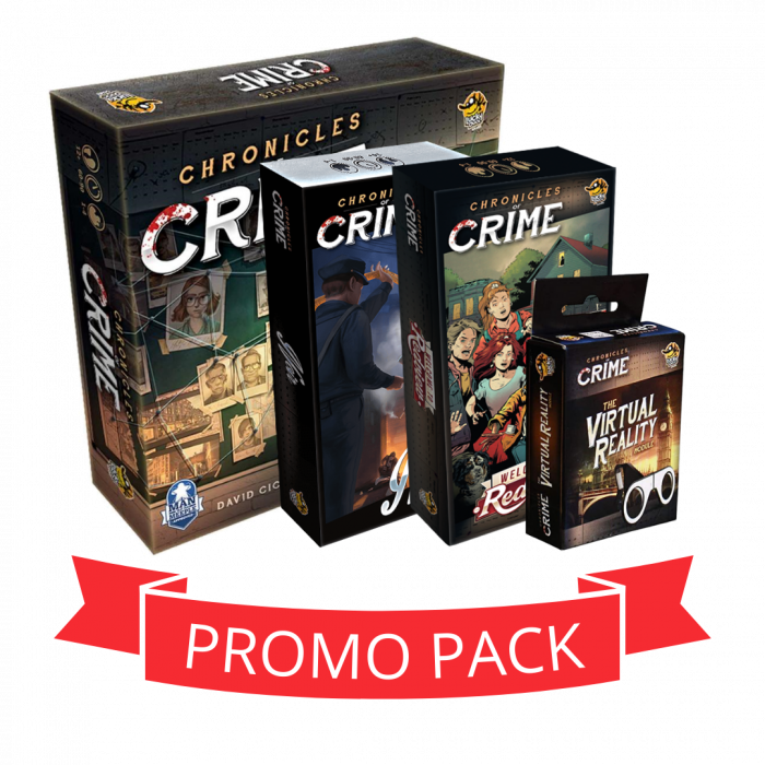 Chronicles Of Crime - Promo Pack [0]