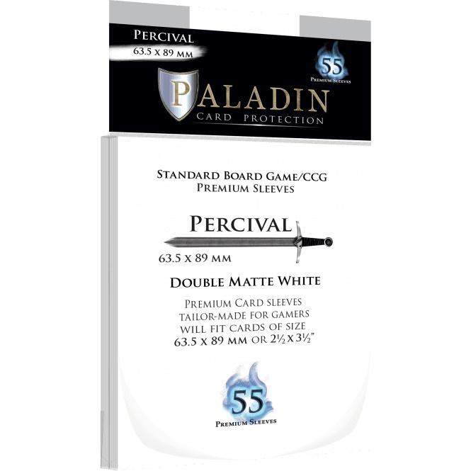 Standard Sleeves (Percival): Clear 63.5x89 mm (55 sleeves) [0]