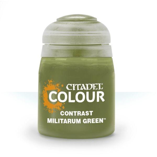 Contrast: Militarum Green 0
