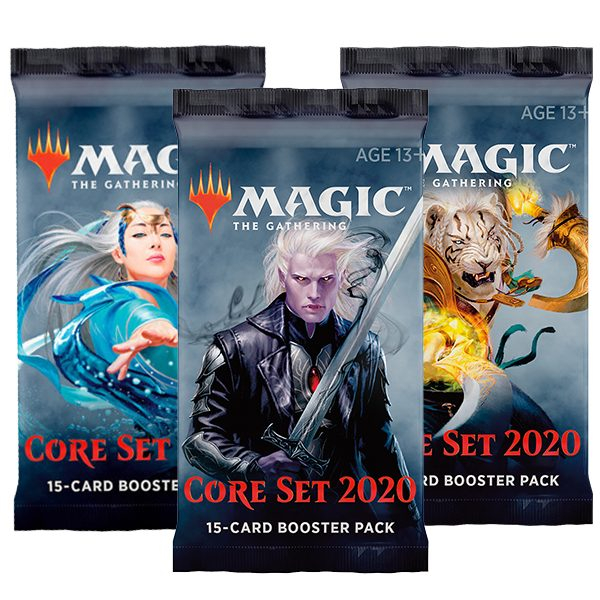 Magic the Gathering Core Set 2020 Booster 0