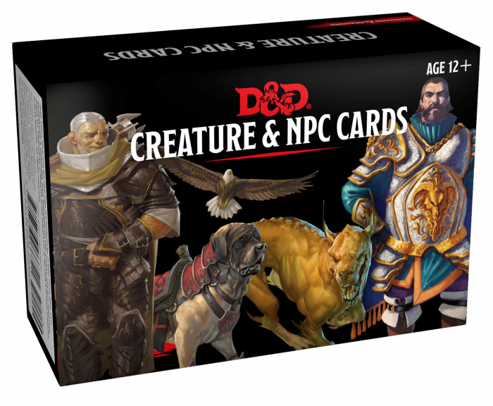 Creature & NPC cards - EN [0]