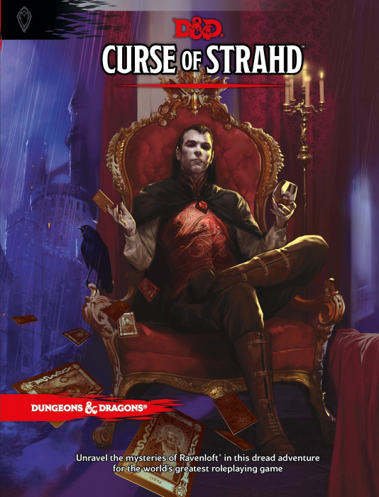 Curse of Strahd Adventure Book 0