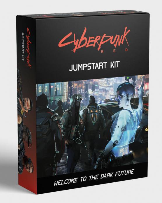 Cyberpunk Red: Jumpstart Kit - EN 0