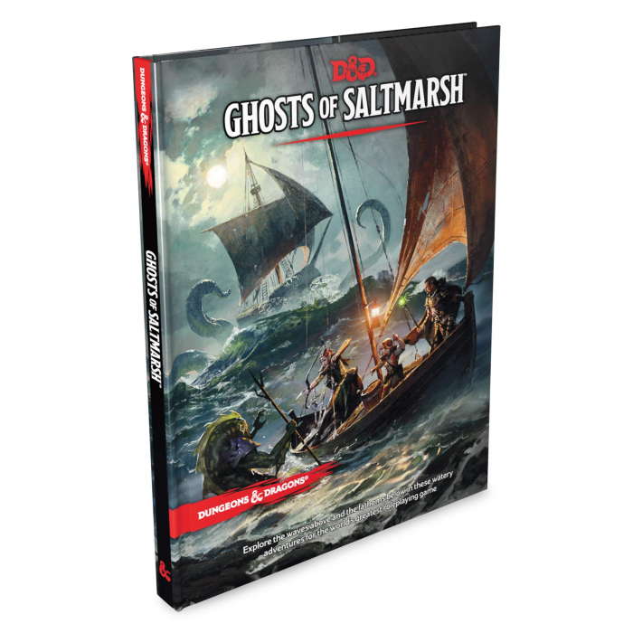 D&D Adventure - Ghosts of Saltmarsh 0