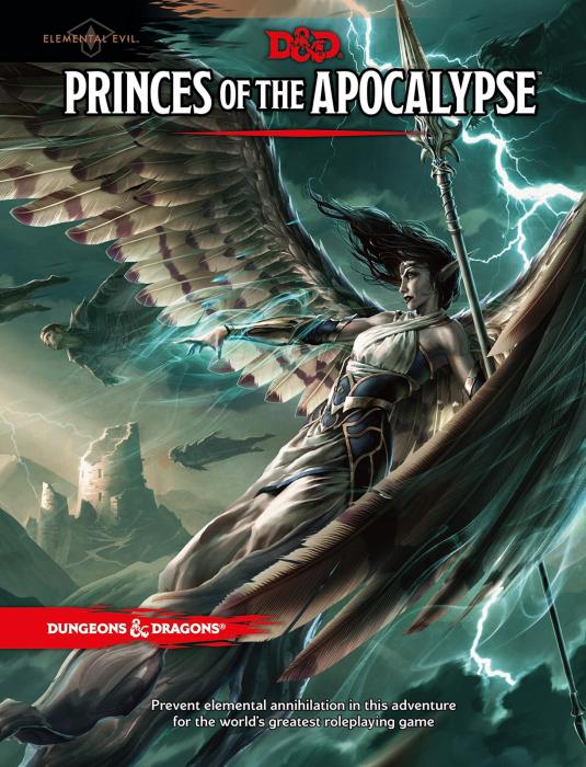 Princes of the Apocalypse (D&D 5e Adventure) - EN [0]