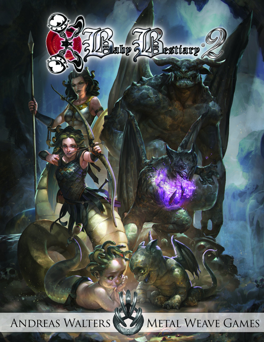 D&D Baby Bestiary - Promo Pack 2