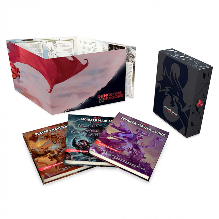 D&D Core Rulebook Gift Set - EN 0