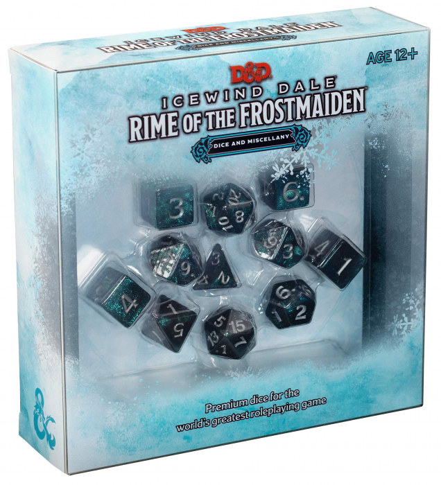 D&D Icewind Dale: Rime of the Frostmaiden Dice Set - EN 0