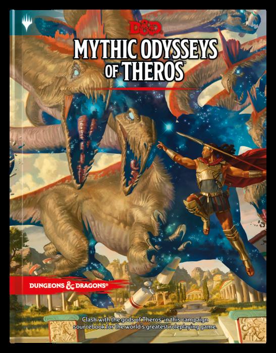 Mythic Odysseys of Theros (D&D 5e Sourcebook) - EN 0