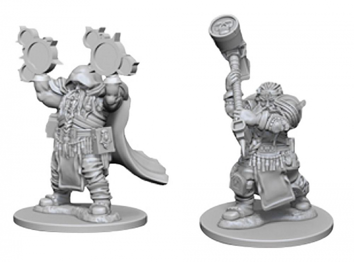 D&D Nolzur's Marvelous Miniatures - Dwarf Male Cleric 0