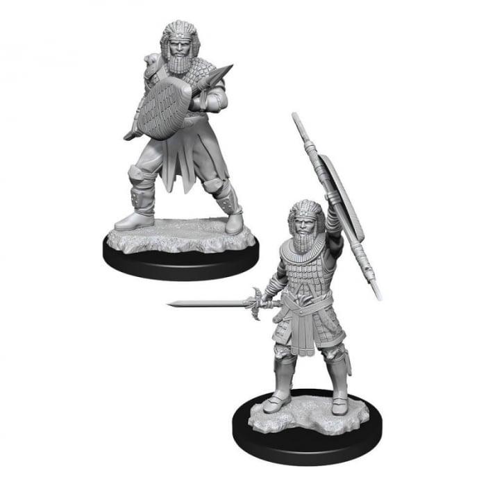 D&D Nolzur's Marvelous Miniatures - Human Fighter Male 0