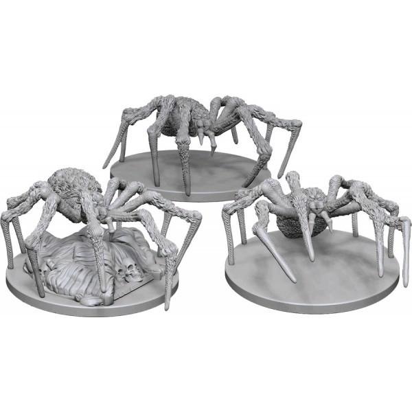 D&D Nolzur's Marvelous Unpainted Miniatures - Spiders 0