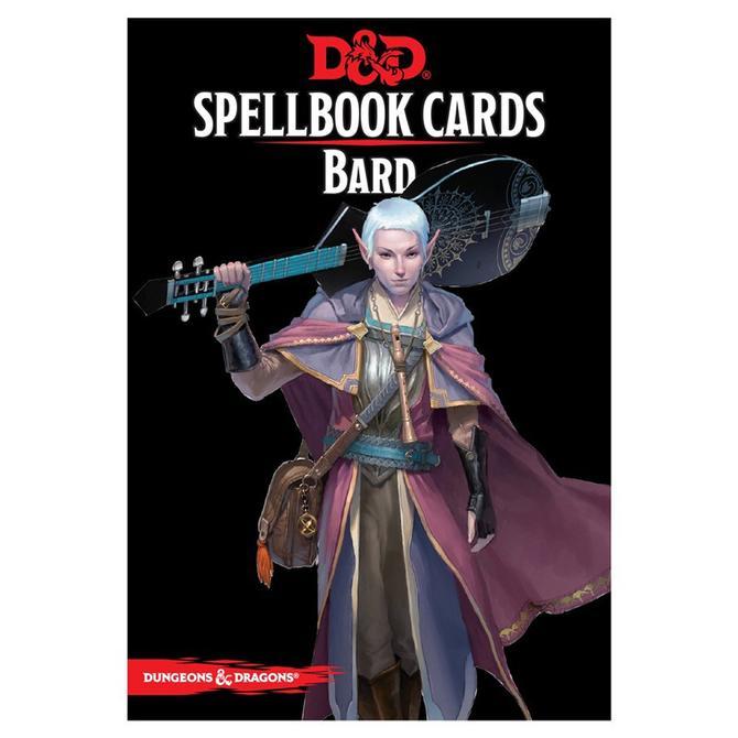 D&D Spellbook Cards - Bard - EN 0