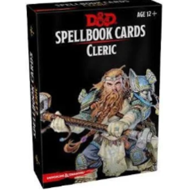 D&D Spellbook Cards - Cleric 0