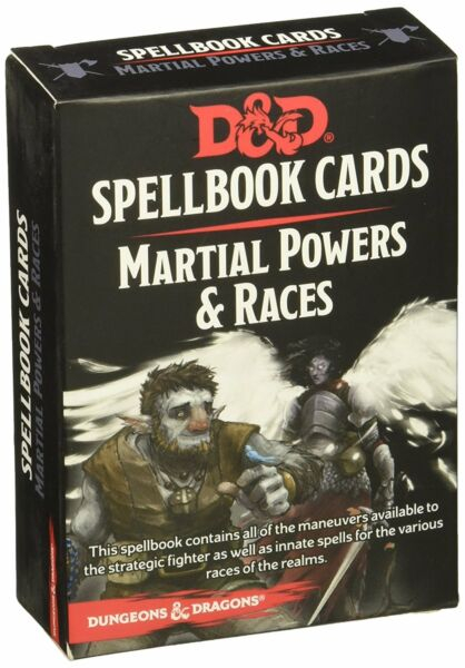 D&D Spellbook Cards - Martial Powers & Races - EN 0