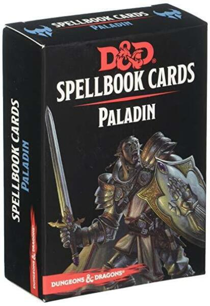 D&D Spellbook Cards - Paladin 0
