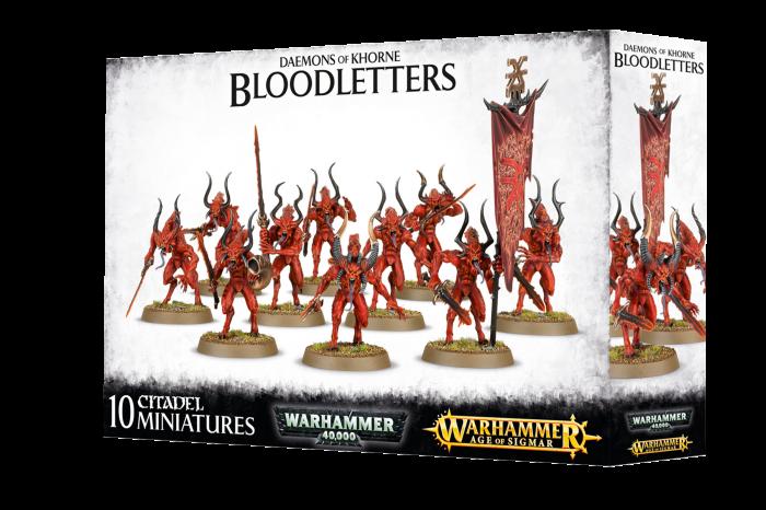 Daemons Of Khorne Bloodletters 0