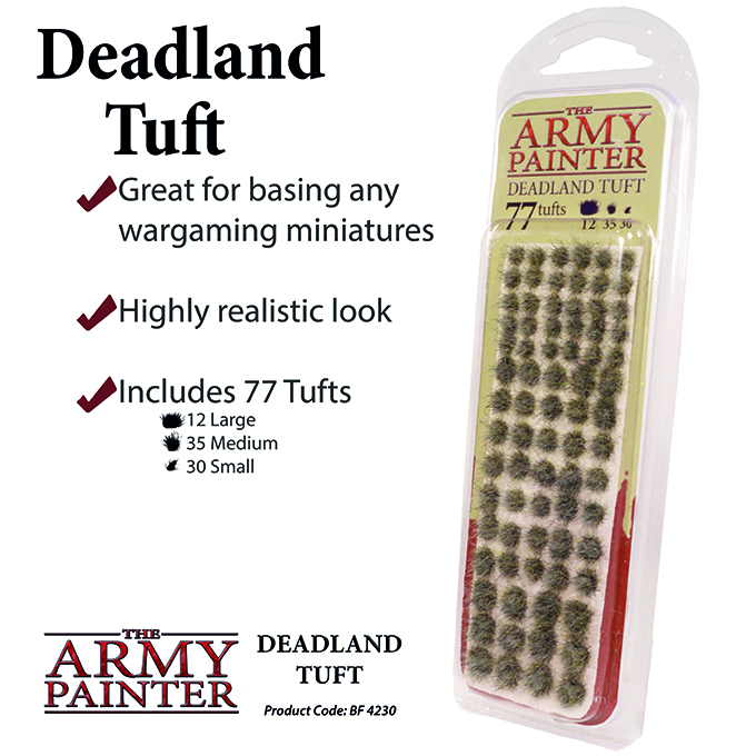 Deadland Tuft - The Army Painter 1