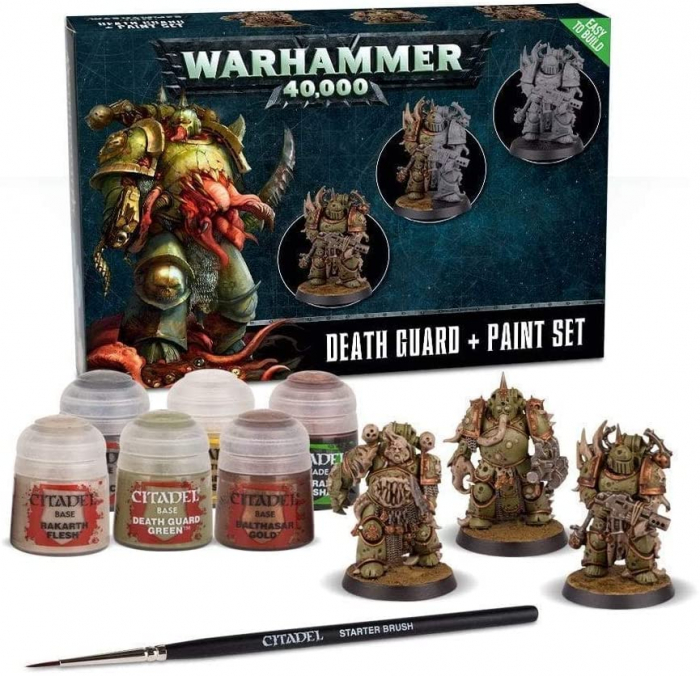 DEATH GUARD PAINT SET 0