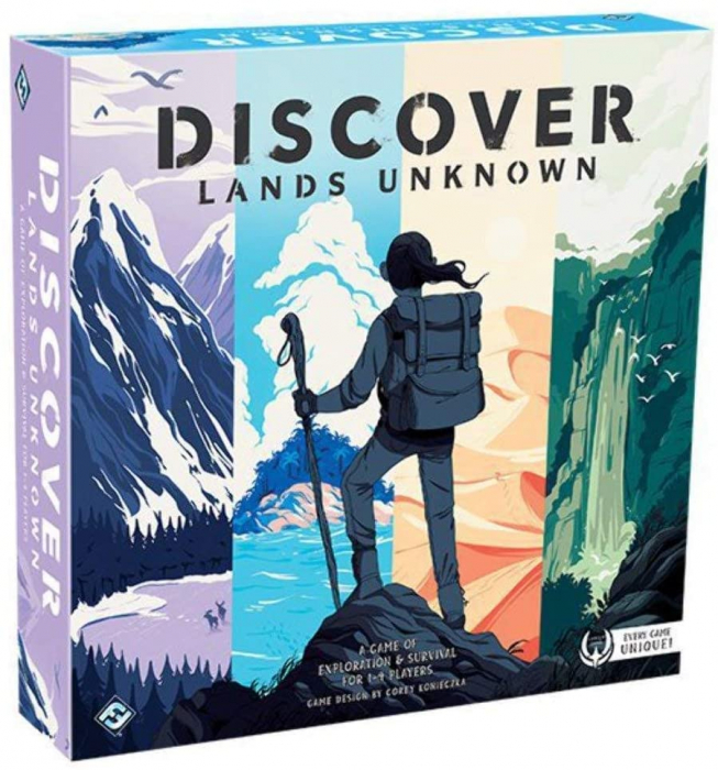Discover Lands Unknown 0