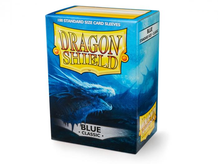 Standard Sleeves: Blue 63x88mm (100 buc) - Dragon Shield 0
