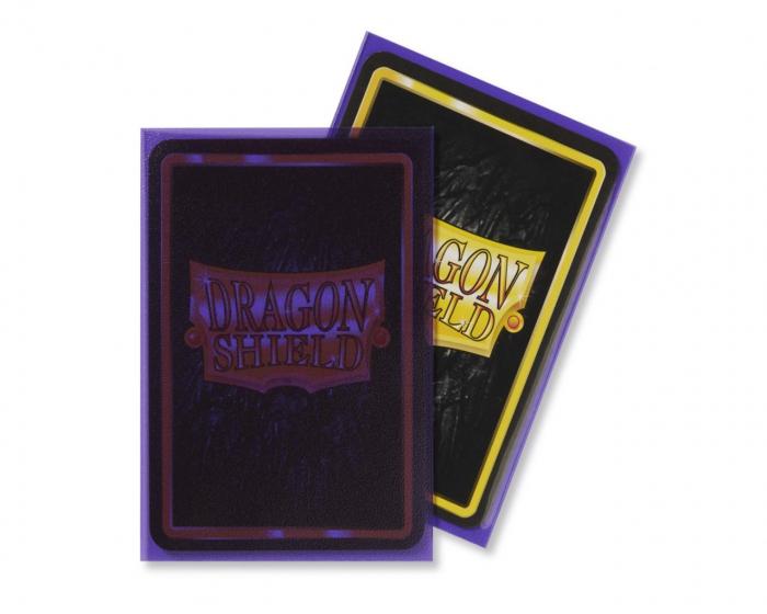 Standard Sleeves: Matte Clear Purple 63x88mm (100 buc) - Dragon Shield 1