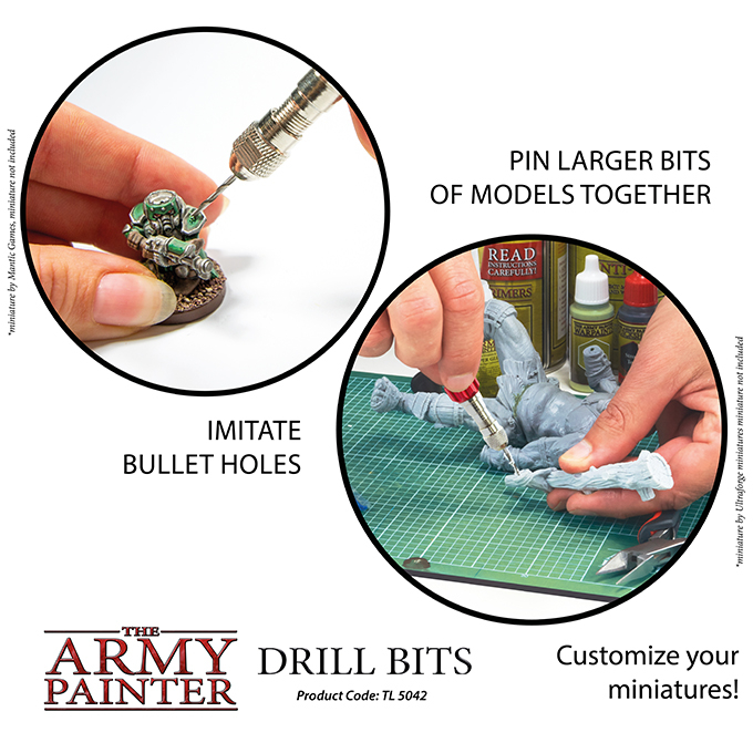 Drill Bits - The Army Painter 6