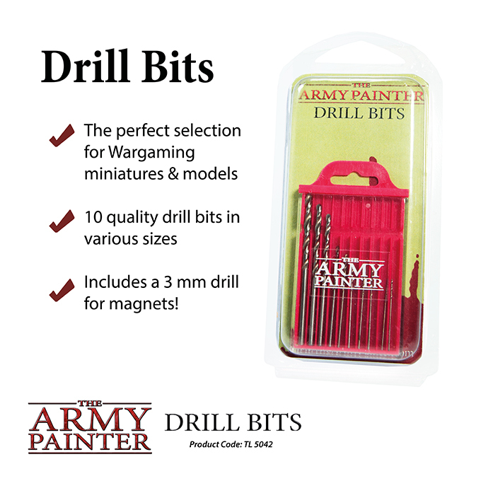 Drill Bits - The Army Painter 1