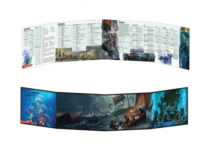 Dungeon Master's Screen - Of Ships and the Sea - EN 0