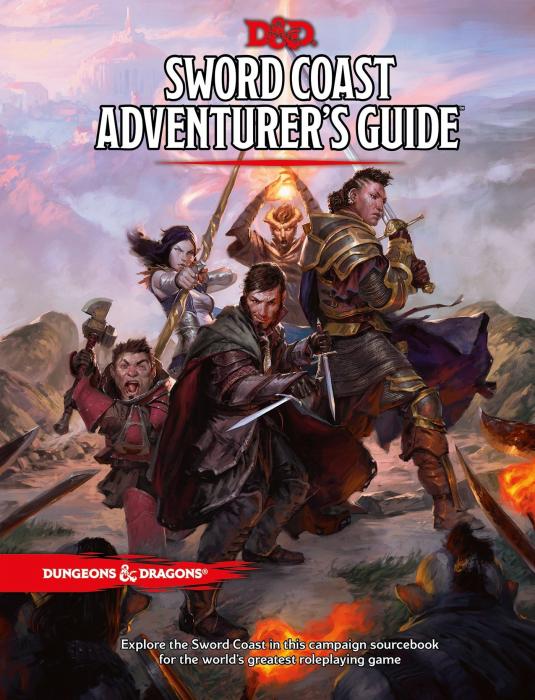 Sword Coast: Adventurer's Guide (D&D 5e Sourcebook) - EN 0