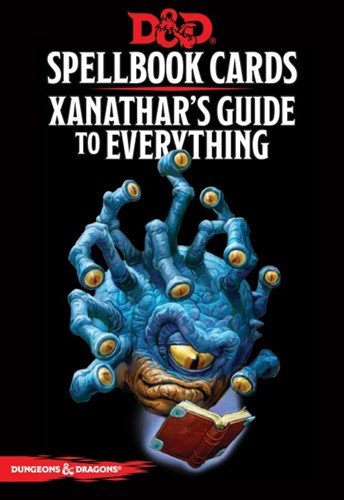 Dungeons & Dragons RPG - Xanathar's Guide to Everything Spellbook Cards 0