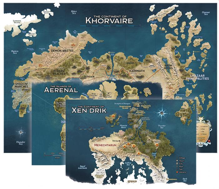 Eberron - Rising From The Last War  - Map Set 0