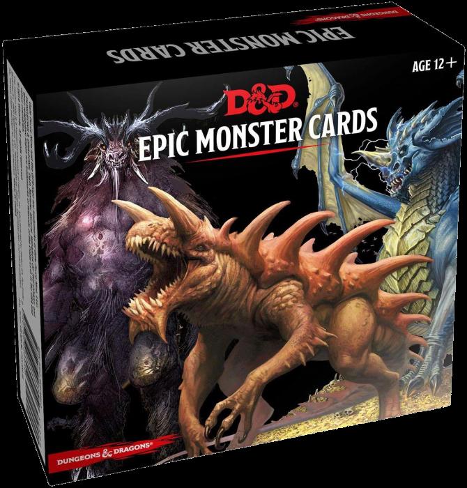 Epic Monster Cards - EN 1