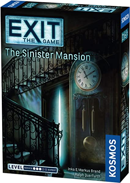 Exit: The Game – The Sinister Mansion jocuri de societate 0