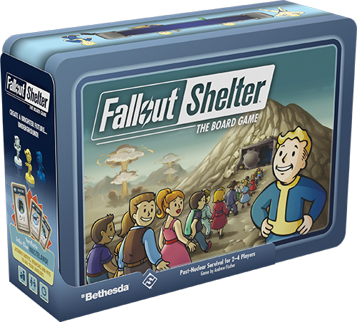 Fallout Shelter: The Board Game 0