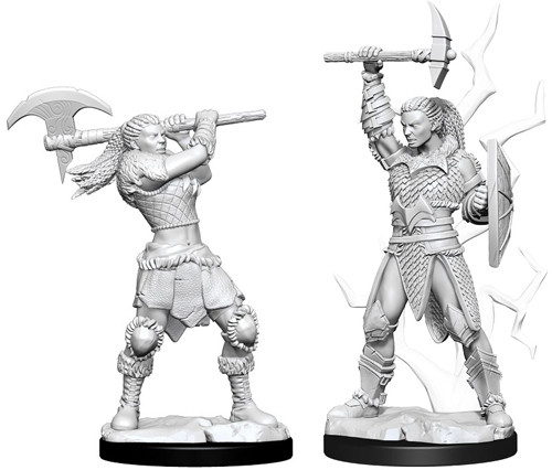 Female Goliath Barbarian - Nolzur's Marvelous Unpainted Miniatures 0