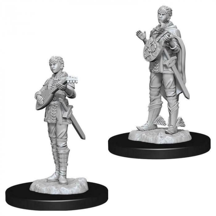 Female Half Elf Bard D&D Nolzur's Marvelous Unpainted Miniatures [0]