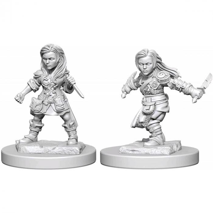 Female Halfling Rogue - Nolzur's Marvelous Unpainted Miniatures 0