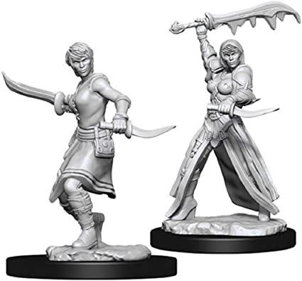 Female Human Rogue - Nolzur's Marvelous Unpainted Miniatures 0