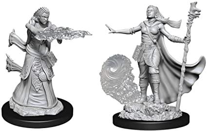 Female Human Wizard- Nolzur's Marvelous Unpainted Miniatures 0