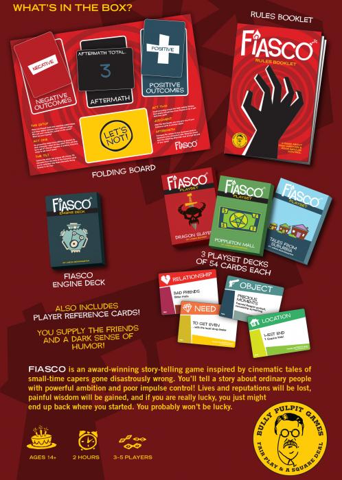 Fiasco RPG (2nd Edition) - EN 1