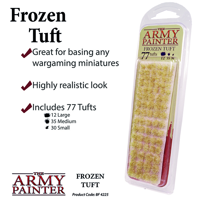 Frozen Tuft - The Army Painter 1